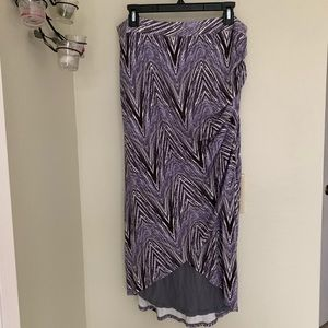 Mauve | Anthro long skirt size L